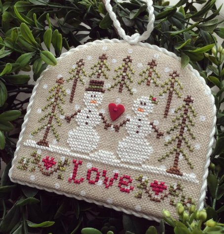Country Cottage Needleworks Classic Collection #3 of 12 ~ Snow Love