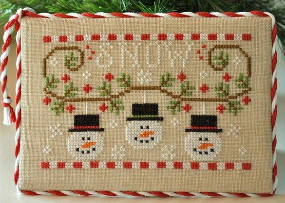Country Cottage Needleworks Snowmen Trio