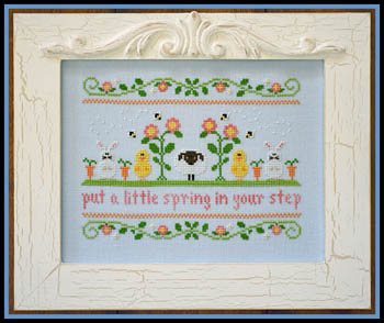 Country Cottage Needleworks Spring In Your Step