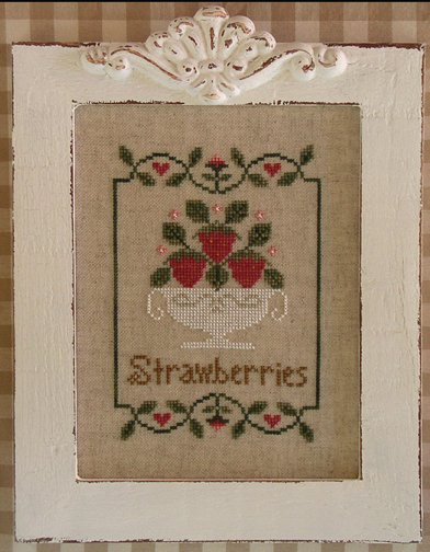Country Cottage Needleworks Summer Strawberries