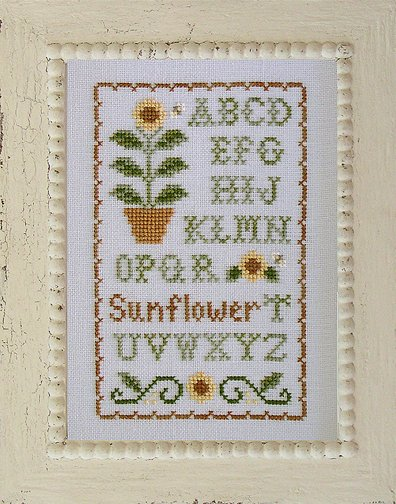Country Cottage Needleworks Sunflower Sampler