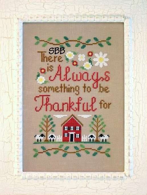 Country Cottage Needleworks To Be Thankful