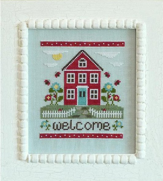 Country Cottage Needleworks Welcome Home