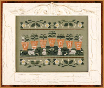 Country Cottage Needleworks Welcome Spring
