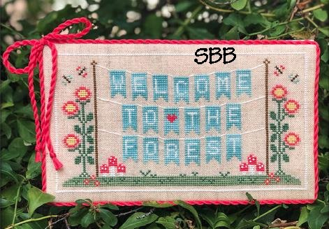 Country Cottage Needleworks Welcome To The Forest 1 ~ Forest Banner