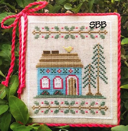 Country Cottage Needleworks Welcome To The Forest 4 ~ Blue Forest Cottage