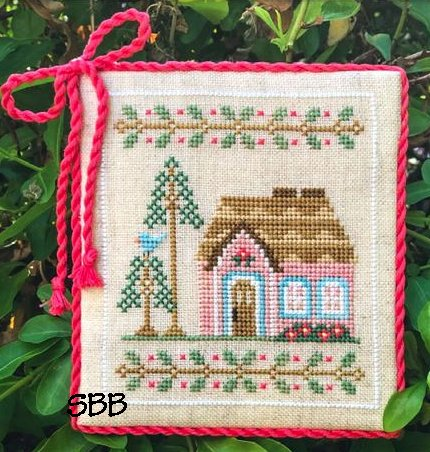 Country Cottage Needleworks Welcome To The Forest 5 ~ Pink Forest