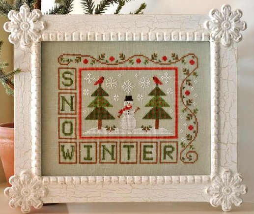 Country Cottage Needleworks Winter Snow