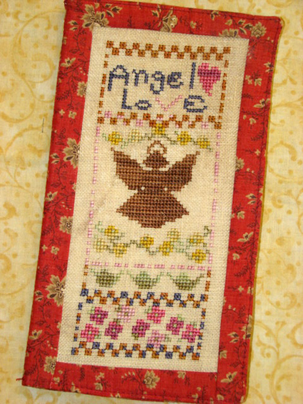 Country Garden Stitchery Angel Love