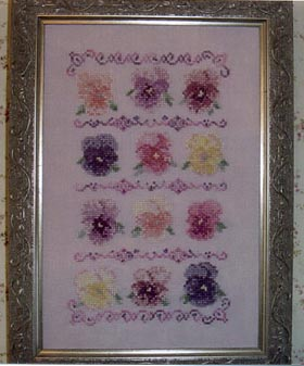 Country Garden Stitchery Antique Shades