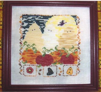 Country Garden Stitchery Boo To You