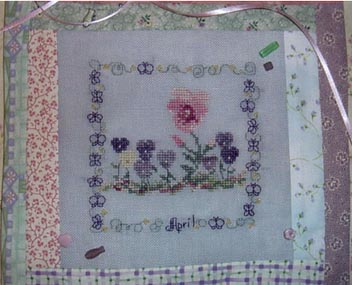 Country Garden Stitchery Country Garden In April