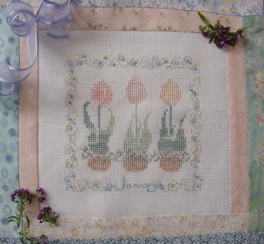 Country Garden Stitchery Country Garden In January