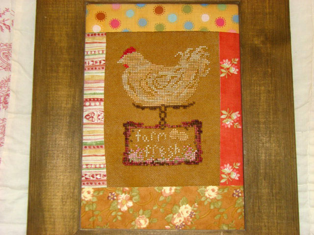 Country Garden Stitchery Fresh Eggs