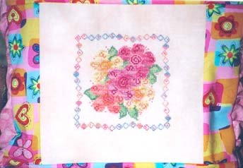 Country Garden Stitchery Funny Flowers