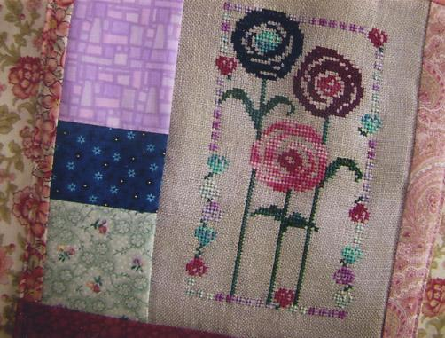 Country Garden Stitchery In Circles