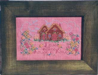 Country Garden Stitchery Love Makes a House a Home