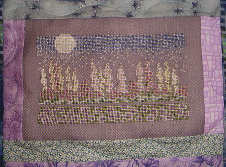 Country Garden Stitchery Moonlight Garden