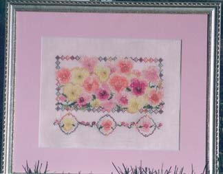 Country Garden Stitchery Pastel Shades