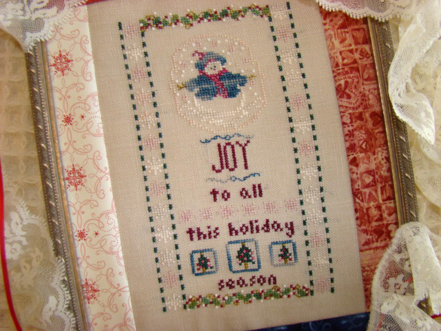 Country Garden Stitchery Snowbaby