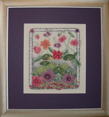 Country Garden Stitchery Summer Jewels & Notecard