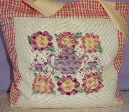 Country Garden Stitchery Tea For You & Me