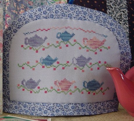 Country Garden Stitchery Time For Tea