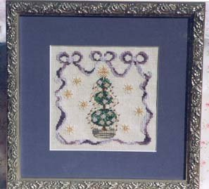Country Garden Stitchery Victorian Topiary