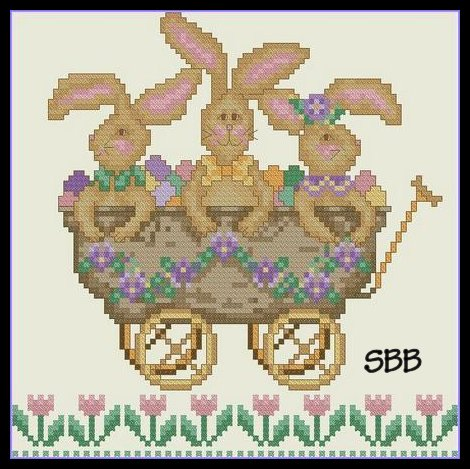 Cross-Point Designs All Aboard The Bunny Express