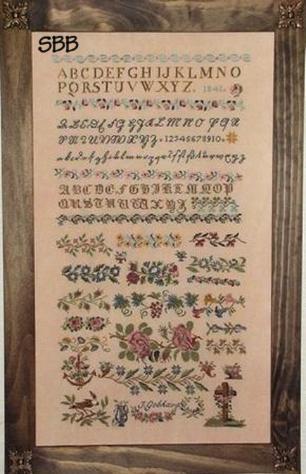 Cross-Point Designs J Gebhard 1841 Sampler