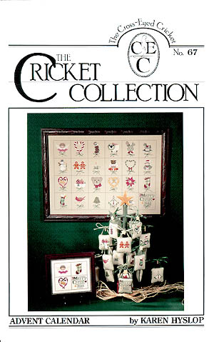 The Cross Eyed Cricket Inc. Advent Calendar