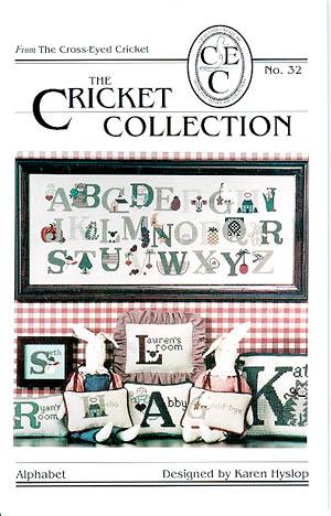 The Cross Eyed Cricket Inc. Alphabet