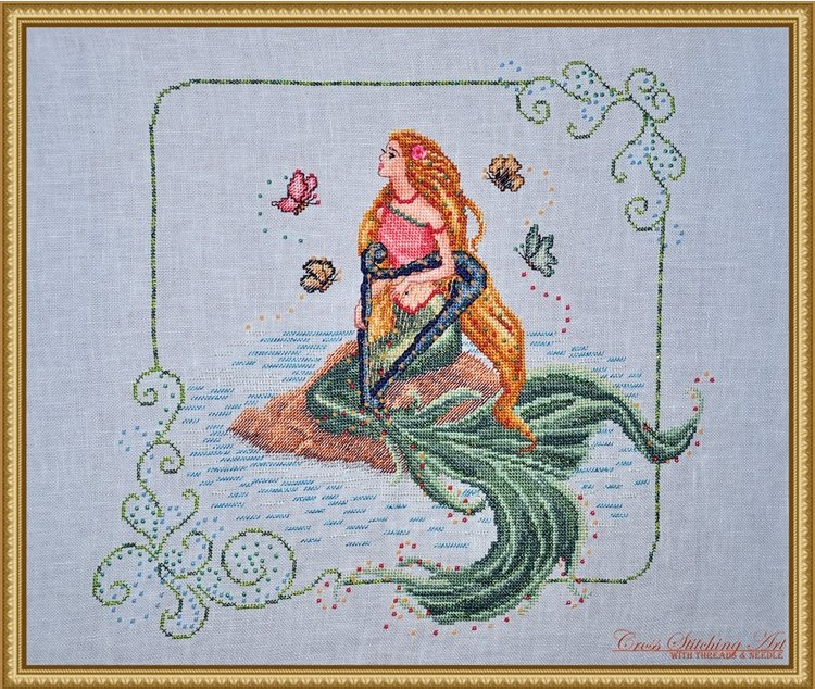 Cross Stitching Art Enchanted Melody