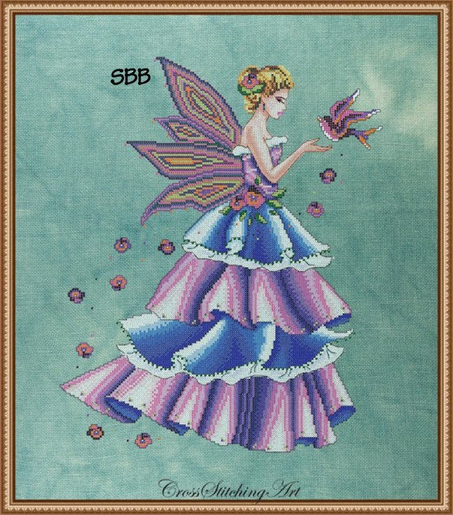 Cross Stitching Art Florence, The Spring Fairy