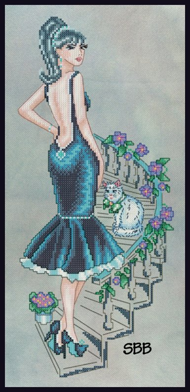 Cross Stitching Art Holly: Never Love A Wild Thing!