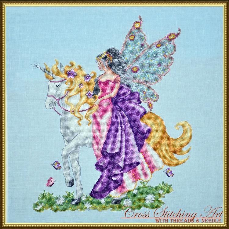 Cross Stitching Art Magical Journey