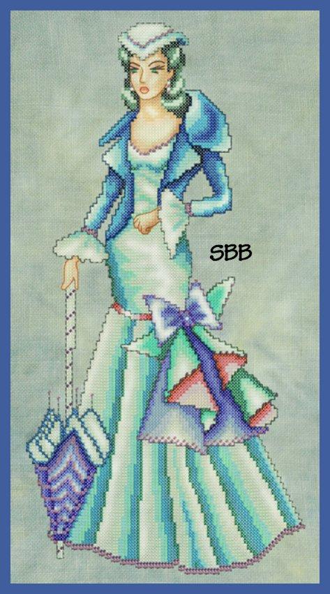 Cross Stitching Art Scarlett - Gone But Not Forgotten