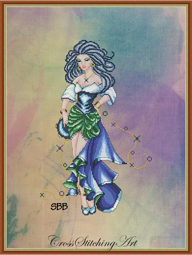 Cross Stitching Art The Dance Of Esmeralda