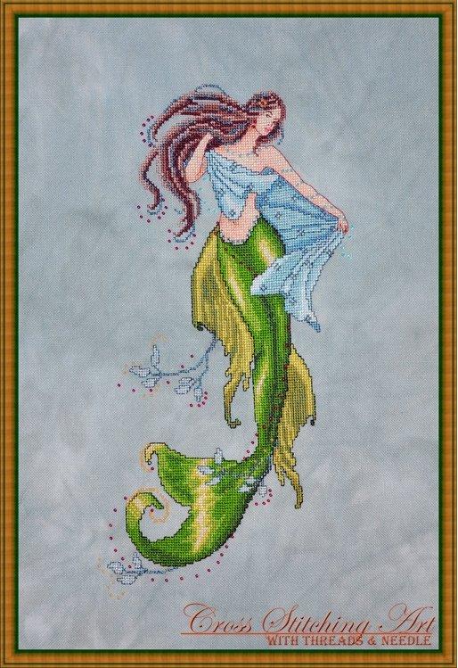 Cross Stitching Art The Siren Of The Deep