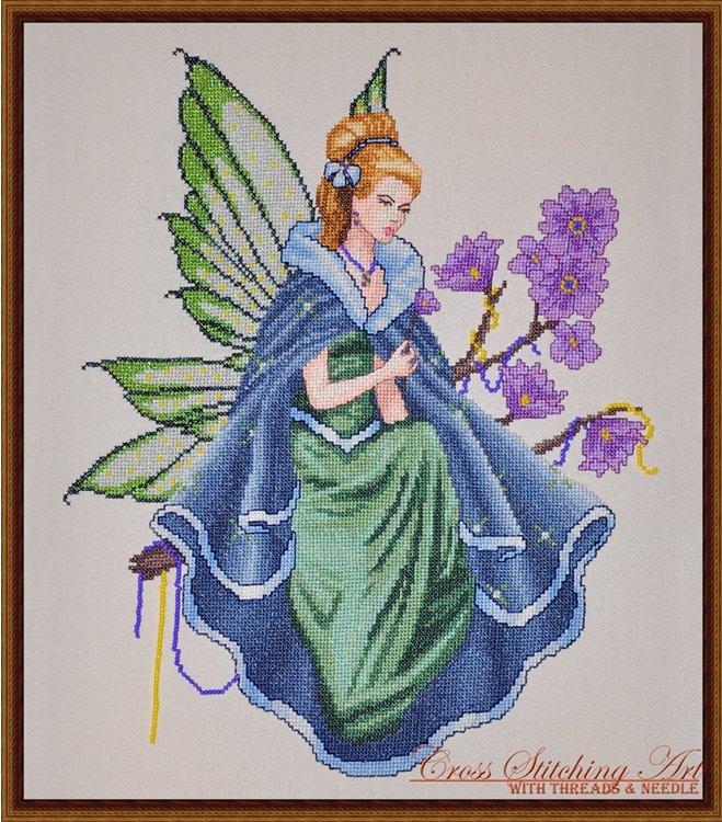 Cross Stitching Art Twilight Fairy