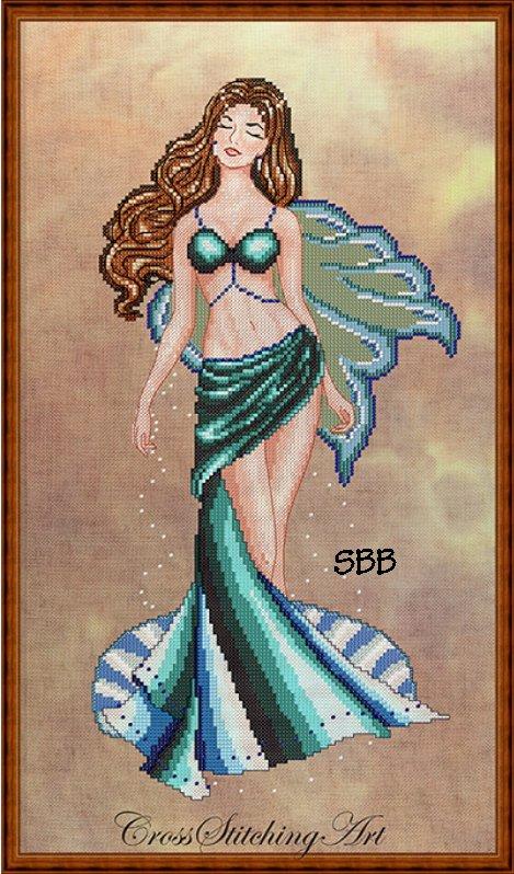 Cross Stitching Art Venus, The Fairy Of Love