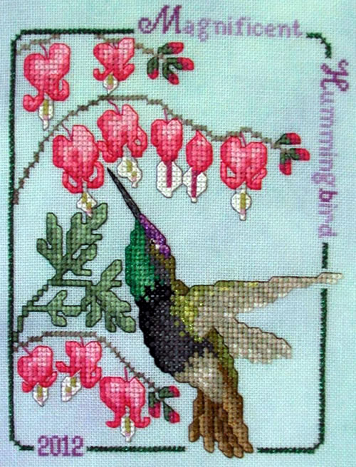 Crossed Wing Collection2012 Magnificent Hummingbird