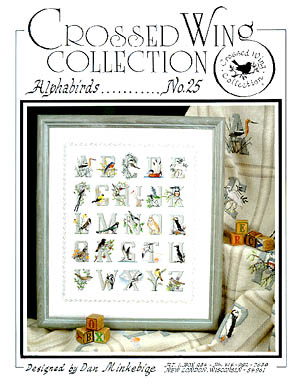 Crossed Wing Collection Alphabirds