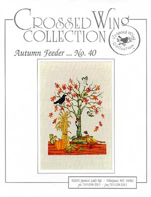 Crossed Wing Collection Autumn Feeder