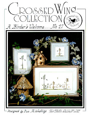 Crossed Wing Collection Birder's Welcome