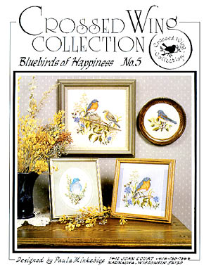 Crossed Wing Collection Bluebirds of Happiness