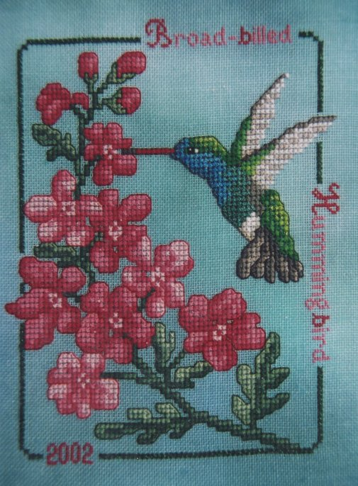 Crossed Wing Collection2002 Broad-Billed Hummingbird