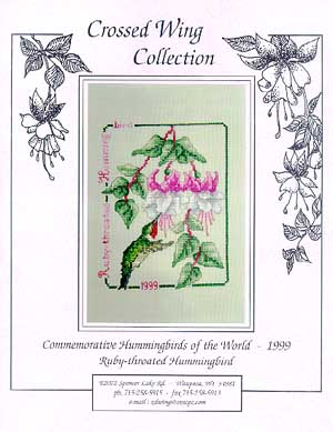 Crossed Wing Collection1999 Ruby Throated Hummingbird