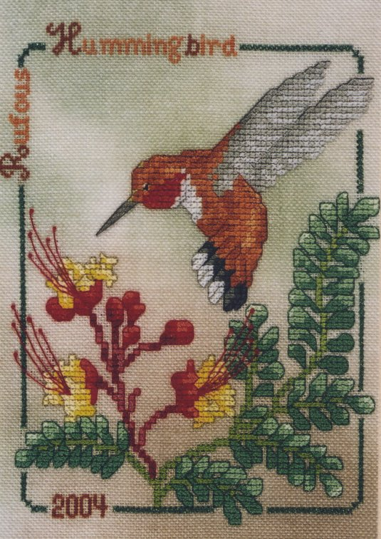 Crossed Wing Collection2004 Rufous Hummingbird