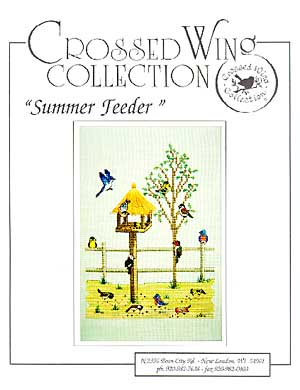 Crossed Wing Collection Summer Feeder